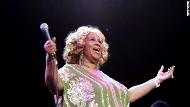 Aretha Franklin told CNN she has long been a fan of