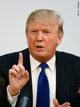 Donald Trump appeared at the Scottish parliament to express his objection to a proposed wind farm off the coast of his new golf course and hotel complex in Aberdeenshire. He claims he was misled by Scotland's first minister Alex Salmond over the offshore development.