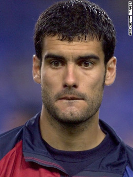 As a player, Guardiola spent more than a decade in Barcelona's senior team, winning six Spanish titles and one European Cup. He captained Spain to a gold medal at the 1992 Barcelona Olympics and went to the 1994 World Cup. <br/><br/>
