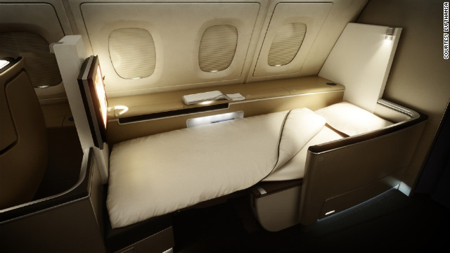 Lufthansa recently reduced the number of first-class suites aboard its 747s to give everyone a seat and bed. <br/><br/>