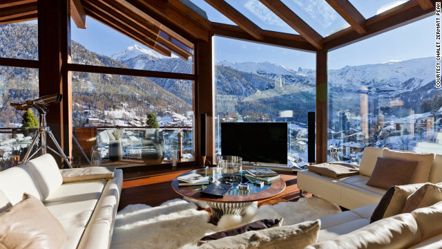 Almost every room at Chalet Hike overlooks the jagged peak of the Matterhorn.