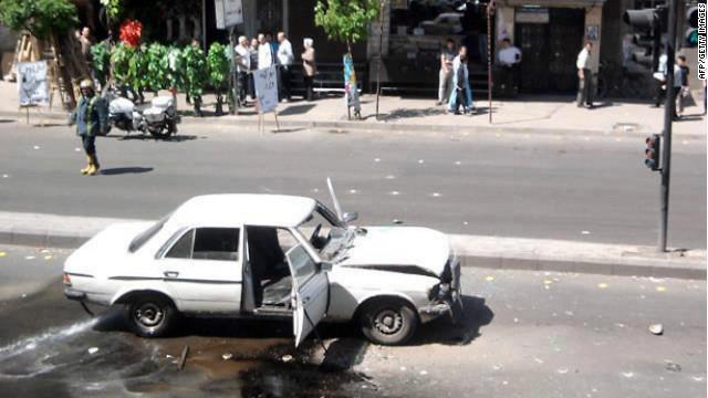 Un ataque suicida acentúa la violencia en Siria