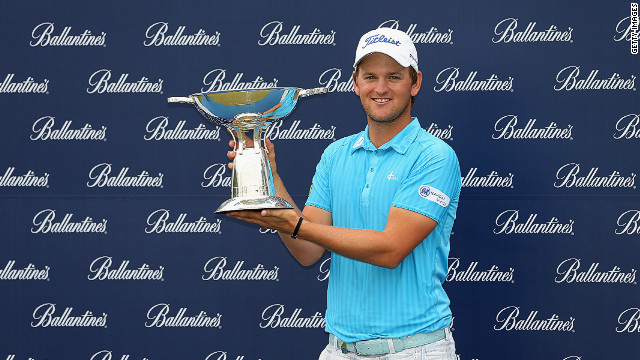 Austria's Bernd Wiesberger finished the tournament on 18-under par, five clear of his nearest challenger