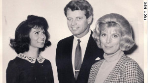 In this NBC photo taken in December 1965, TV actress Nina Roman, today known as Nina Rhodes-Hughes, left, and her  border=
