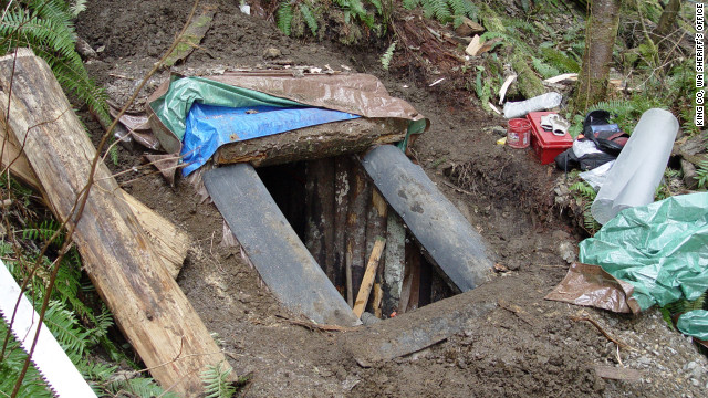 Keller was found in the well-camouflaged bunker six days after the slayings.