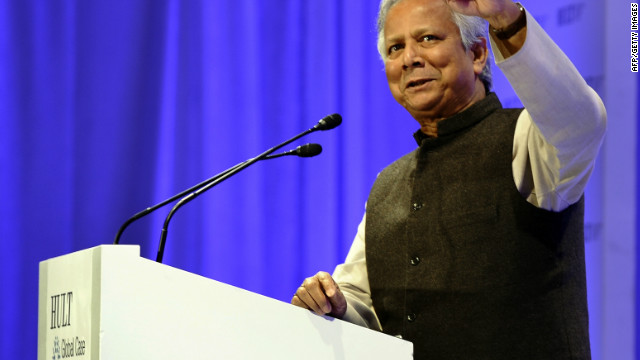 Nobel Laureate and Founder of Grameen Bank Muhammad Yunus in New York in April.