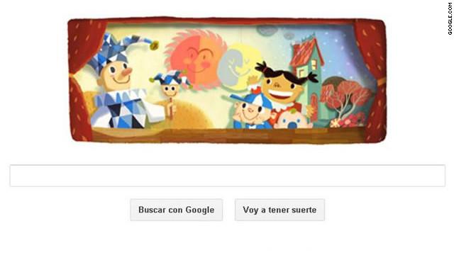 Google dedica su logo a los niños