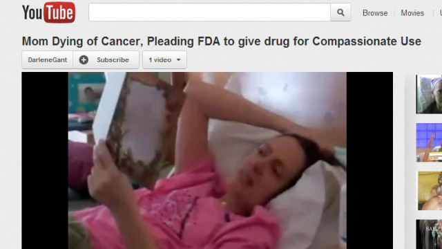 Woman gets cancer drug released early after posting video pleading for help