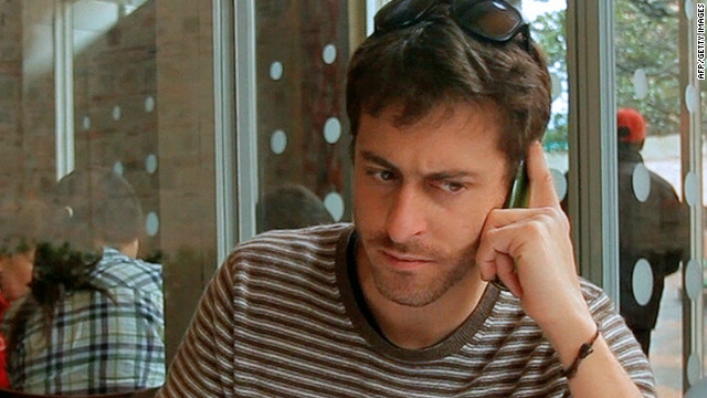 French journalist Romeo Langlois was captured last month by the Revolutionary Armed Forces of Colombia.