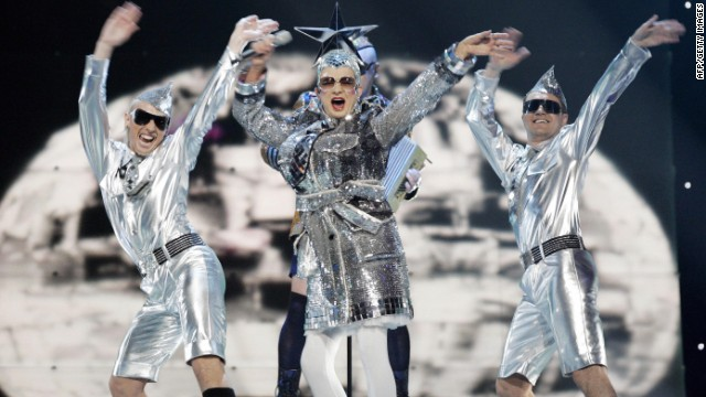 "Eurovision has always been a stage for outlandish costume design. In 2007, drag act Verka Serduchka finished second in the competition with the song ""Dancing Lasha Tumbai."""