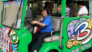 Women drive for equality in the Philippines