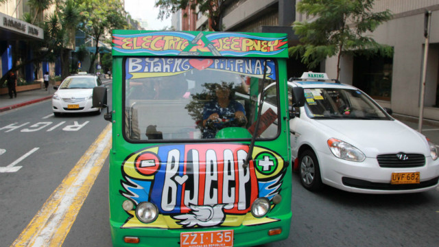 "The electric jeepney project has been running since 2009.<br/><br/>""As well as the environmental impact, we wanted it to help women to have the same opportunity as male drivers,"" says Reina Garcia."
