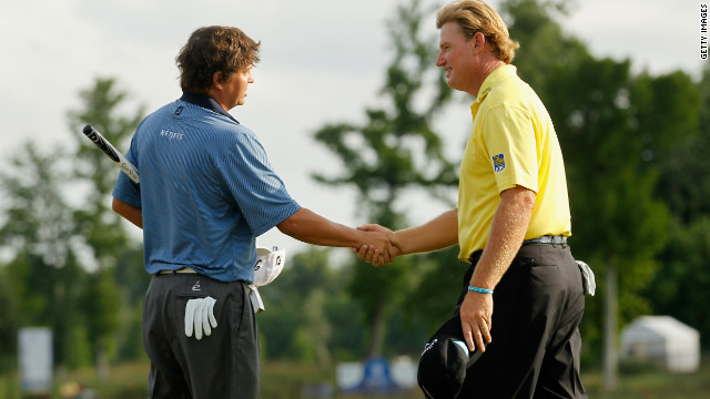 American Jason Dufner beat Ernie Els in a playoff at the Zurich Classic for his first PGA Tour win at the 164th time of trying. Els' two-year title drought goes on, but he likely did enough to qualify for the U.S. Open.