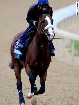 Union Rags has already had some success at Churchill Downs, finishing second in the Breeders' Cup Juvenile there in 2011. The colt was also third at the Florida Derby in March. &quot;He's big, he's strong, he's fast -- so far I haven't found any faults in him. I think he's got a good chance,&quot; trainer Michael Matz said.