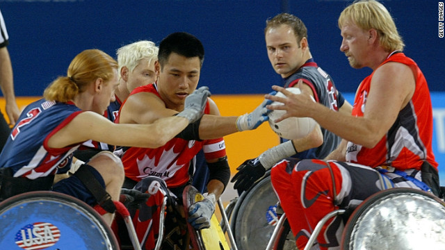 Hickling won a silver medal at the 2004 Paralympics in Athens, with Canada beating the United States in the semifinals.