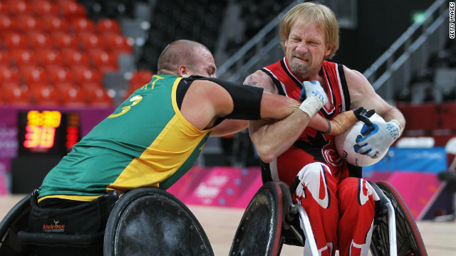 Hickling focused on Paralympic gold