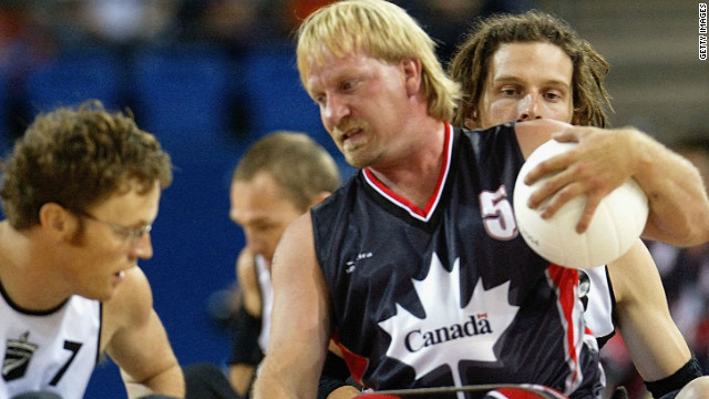 "The final did not go so well, with Canada losing to New Zealand. It was the second time ""murderball"" had been a fully-fledged sport at the Paralympics."