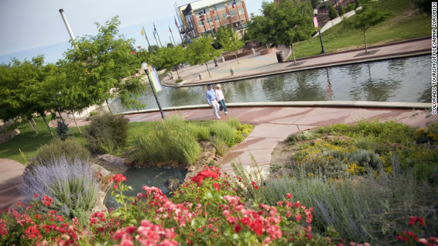The Historic Arkansas Riverwalk brought the river back to the heart of downtown Pueblo after it was diverted in the 1920s.