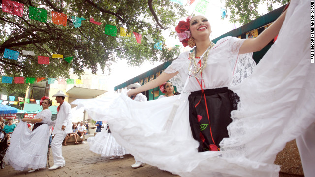 In San Antonio, Market Square is home to shops and restaurants and often hosts live entertainment.