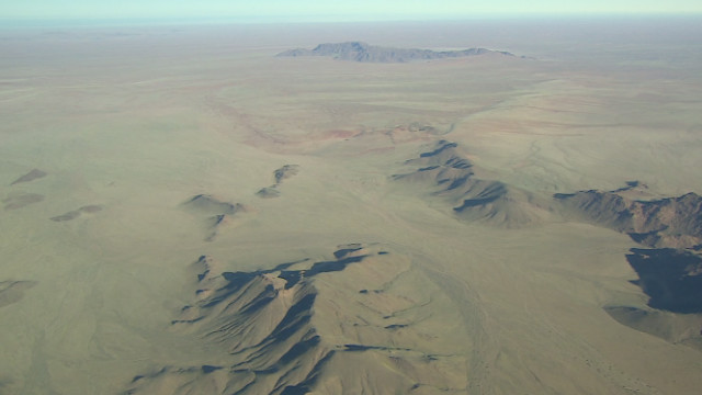 Dry for an estimated 55 million years, the Namib is considered the world's oldest desert. It stretches along Namibia's coastline and into Angola and South Africa.