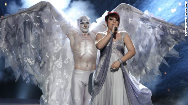 "Malta's Thea Garrett performed the song ""My Dream"" in front of a dancing silver bird-man in Eurovision 2010, but failed to qualify for the final."
