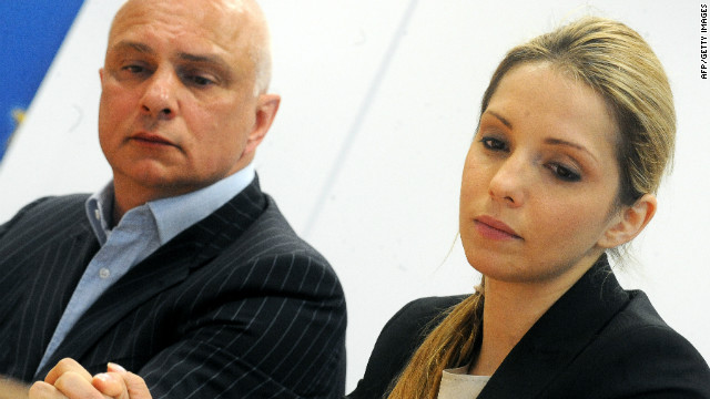 Tymoshenko's husband Oleksander and daughter Yevgenia hold a news conference to rally support. Yevgenia claims her mother's life is in danger since starting a hunger strike more than a week ago. 
