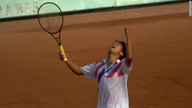 History man: Chang\'s 1989 French Open triumph