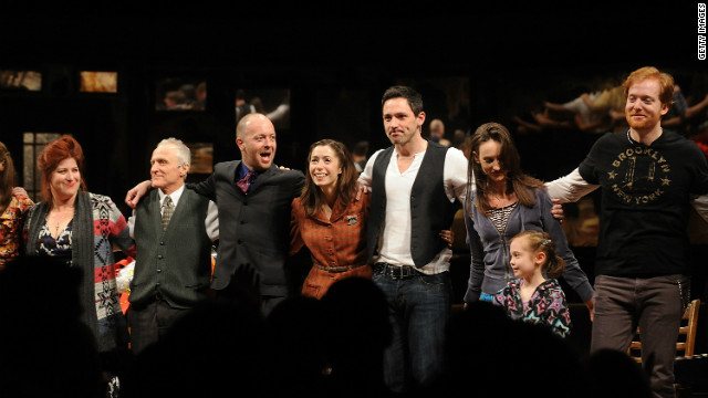 'Once' picks up four Drama Desk awards