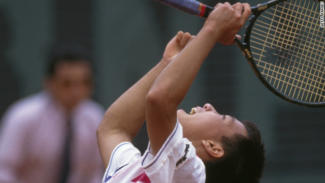 Michael Chang remains the youngest grand slam winner in history as he claimed the French Open title in 1989 while still only 17.