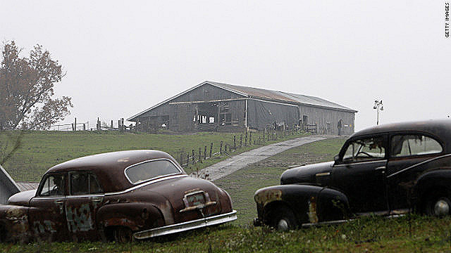 Dozens of exotic animals were released from this farm near Zanesville, Ohio, on October 19, 2011.
