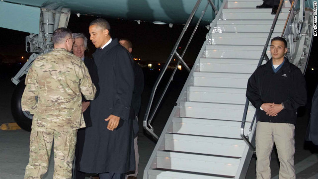 Obama in Afghanistan: U.S. must 'end this war responsibly'