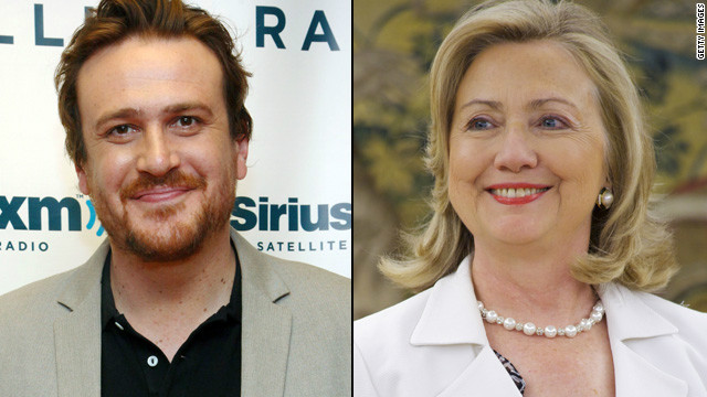 Hillary Clinton lets Jason Segel down easy
