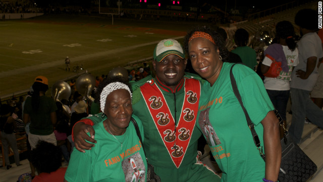 FAMU Drum Major Robert Champion is pictured in this photo, taken in 2011.