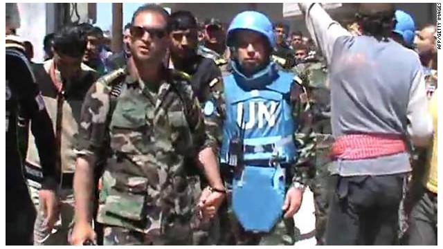 ¿Sirven de algo los observadores de la ONU en Siria?