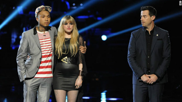 'The Voice' picks its final four