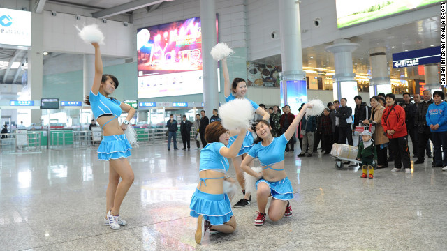 China's Dalian International Airport aims to 