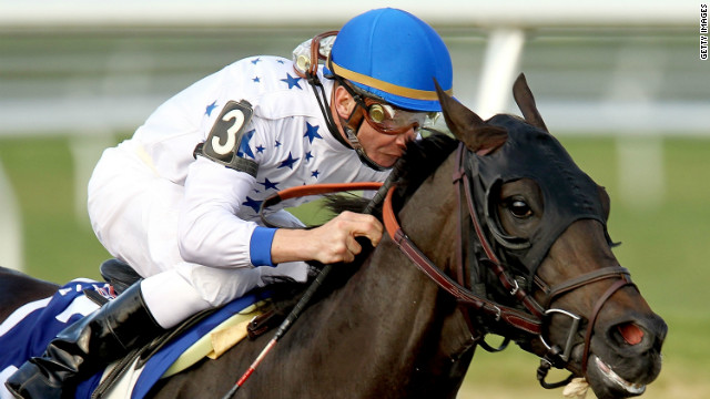 "Jockey Calvin Borel hopes Take Charge Indy can deliver his fourth Kentucky Derby on Saturday. They have already won March's Florida Derby and will start off among the favorites for the 2012 ""Run for the Roses."""