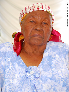 Caroline Mutoko believes that in order to work out what the women of Africa need, you must look at past generations. Like her grandmother pictured here.