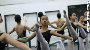 Ballerinas hope to dance out of poverty