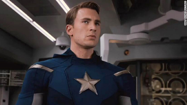 Chris Evans first donned red, white and blue for 2011's &quot;Captain America: The First Avenger.&quot; He continues his fight against evil in &quot;The Avengers.&quot;