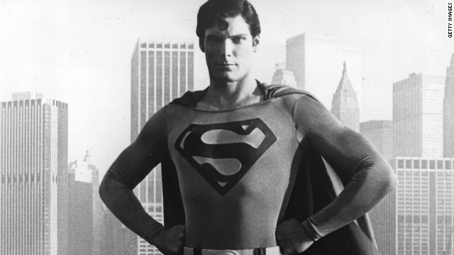 "The late Christopher Reeve, pictured, wore the red cape in 1978's ""Superman"" and its three sequels. Brandon Routh took over in 2006's ""Superman Returns,"" and Henry Cavill starred in 2013's ""Man of Steel."""