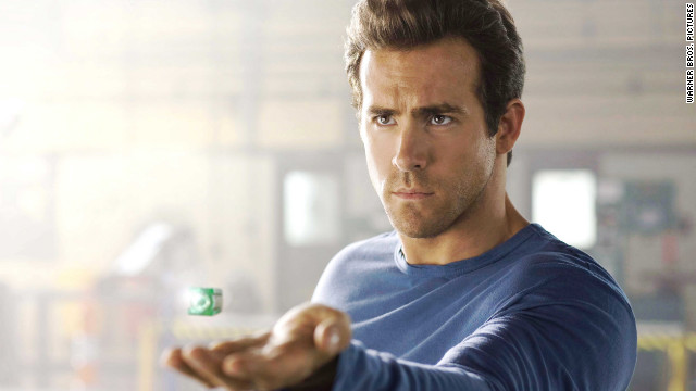 Ryan Reynolds became the Green Lantern in 2011.