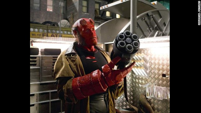 Ron Perlman went red for Guillermo del Toro's &quot;Hellboy&quot; in 2004 and &quot;Hellboy II: The Golden Army&quot; in 2008.