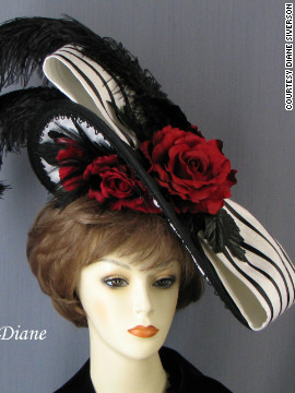 "Siverson's ""At the Races"" fascinator is one example of how milliners took the trend, popularized and worn largely at the 2011 Derby, and gave it new life."