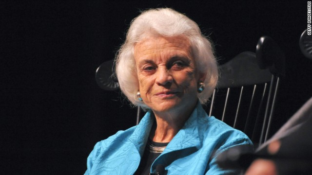 Justice Sandra Day O'Connor seeks to reverse America's decline in civics