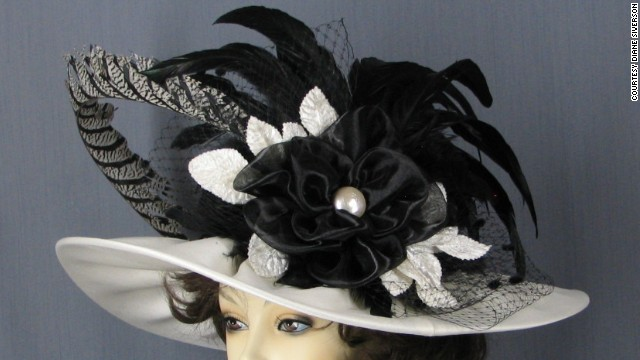 "Diane Siverson, of <a href='http://www.ladydianehats.com/index.html' target='_blank'>Lady Diane Hats</a>, is proud of her ""Morning Star"" hat. The design inspires her customers to order similar customized hats."