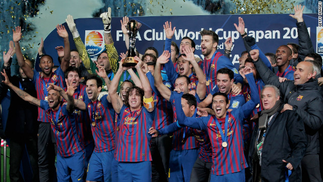 Barcelona's players are the best paid in the world according to a new report. The team kept its No. 1 place on the earnings table with each player taking home an average annual salary of $8.6 million (5.2 million). That's a whopping $166,934 (101,160) per week and a 10% rise on last year. 