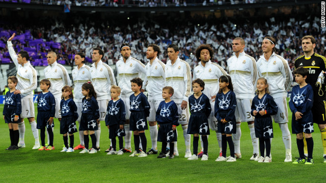 Spanish football teams continued to dominate the rankings, with Real Madrid keeping its No. 2 spot. It's players earned an average $7.7 million (4.7 million) - a 6% rise on last year. Cristiano Ronaldo became the most expensive footballer in history in 2009 after moving from Manchester United to Real Madrid in a six-year deal worth $129 million (80 million).