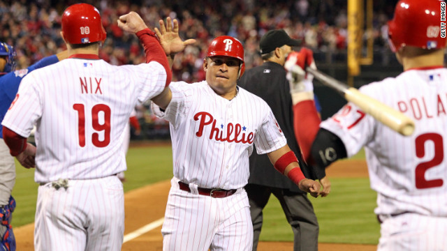 The Philadelphia Phillies are one of just three U.S. teams in the top 10. The baseball franchise's players earned an average $5.8 million a year, or $111,884 per week.