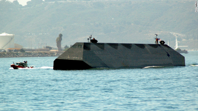 Here's your chance to own Navy stealth ship